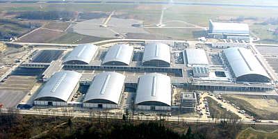Messegelände Friedrichshafen (Luftbild)