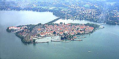 Lindau Luftaufnahme