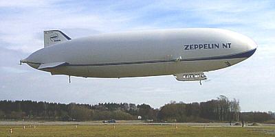 Zeppelin NT Abflug