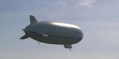 Zeppelin Flug